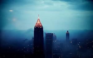 Atlanta Skyline Wallpapers  Wallpaper Cave