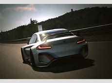 M2 Anyone? BMW Designs Stunning Vision Racecar for Gran