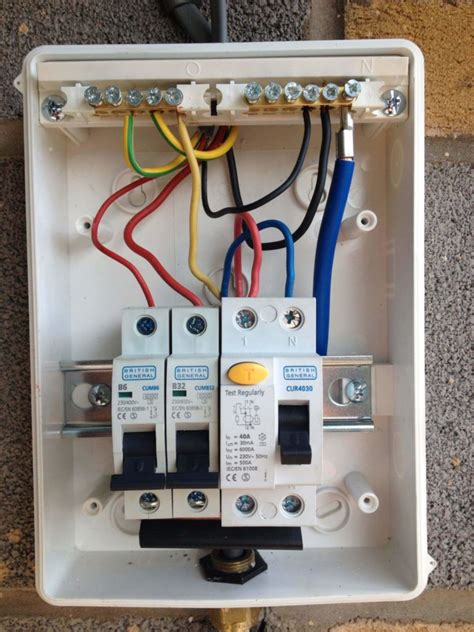 wiring diagram  caravan consumer unit wiring diagram