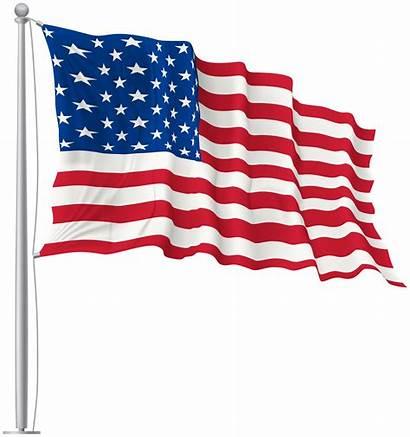 Flag Waving Usa Flags National Transparent Clipart