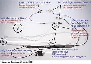 Accordion Microphone System Amx11hd
