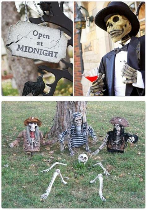 decoration halloween  idees pour lexterieur