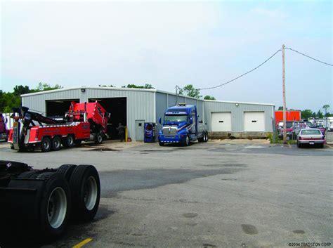 Carport Lkw Garage by Metal Building Truck Garages Steel Truck Garage Buildings