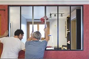 Comment Fabriquer Une Verriere En Acier : installation verri re comment poser une verri re ~ Voncanada.com Idées de Décoration