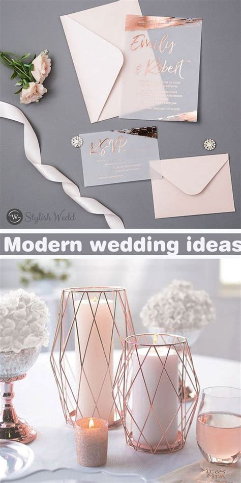 TOP 7 UNIQUE AND ELEGANT ROSE GOLD WEDDING IDEAS THAT YOU