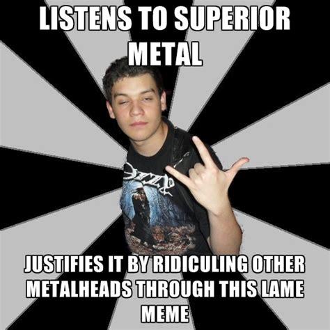 Metalheads Memes - metalhead meme memes