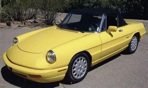 1992 Alfa Romeo Veloce Spider 2 Door Convertible
