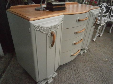 Deco Sideboard by Deco Oak Sideboard Antiques Atlas