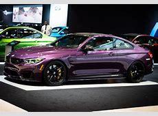 Purple Silk BMW M4 with M Performance Parts BMW Car Tuning