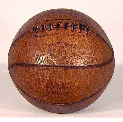 laced basketball  exceptional vintage