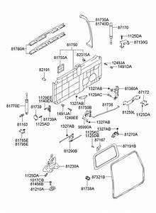 2005 Hyundai Santa Fe Lifter Assembly