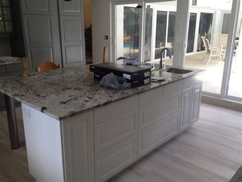 kitchen island countertop overhang granite island countertop overhang help 5032