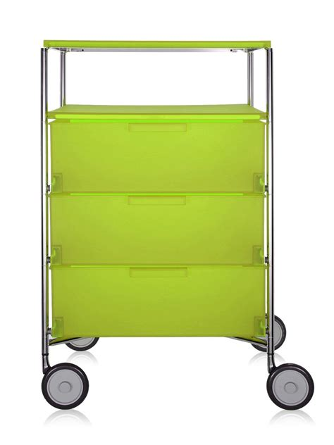 Kartell Mobil by Kartell Mobil 3 Containers Shelf