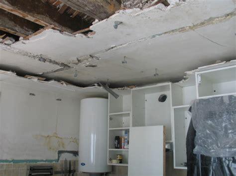refaire un plafond abim 233 isolation id 233 es