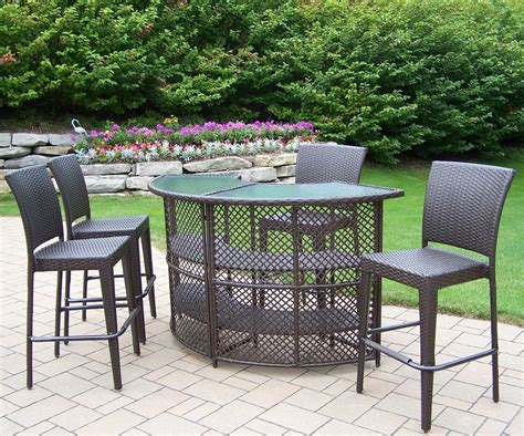 Outside Furniture Set by Furniture Interesting Bar Height Patio Set For Modern