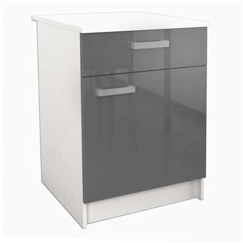 meuble bas de cuisine avec plan de travail start meuble bas de cuisine l 60 cm avec plan de travail