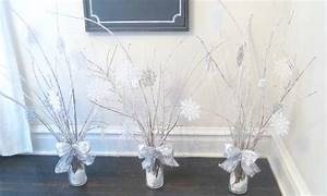 beyond the portico: WINTER WONDERLAND CENTERPIECES WITH
