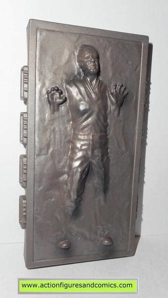 star wars action figures HAN SOLO CARBONITE 1996 complete ...