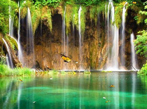 Nature Animated Wallpaper Desktop - charm waterfall animated wallpaper