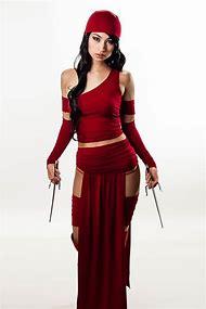 Marvel Comics Elektra Costume