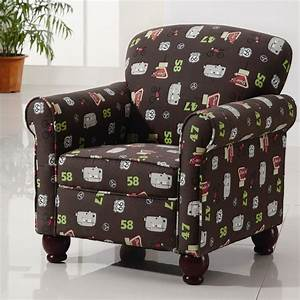 Kids Accent Chair With Wingback And Storage Plus Wooden