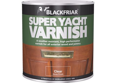 Yacht Varnish Matt by Yacht Varnish Blackfriar