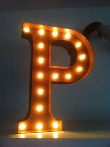vintage light up letters light up letters pinterest With vintage light up marquee letters