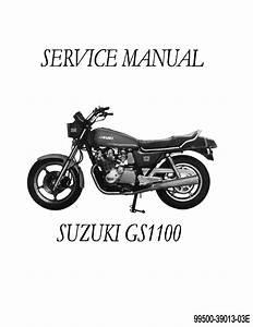 Suzuki Gs 1100 Motorcycle Repair Manual 1979 1980 1981