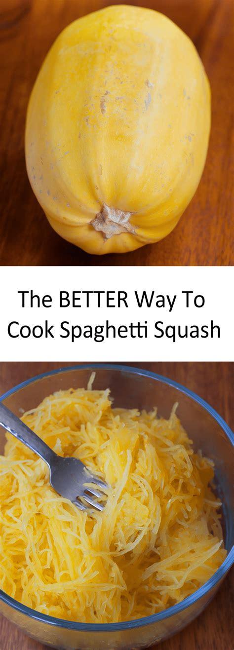 how to cook spaghetti how to cook spaghetti squash