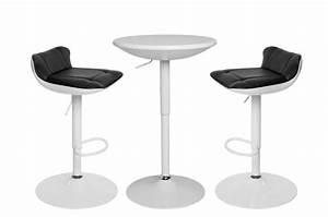 Table Haute Et Tabouret : ensemble table haute et 2 tabourets apero table de bar pas cher ~ Teatrodelosmanantiales.com Idées de Décoration