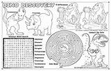 Placemat Coloring Colouring Mat Pages Dinosaurs Dinosaur Placemats Dino Colorable Template Printablecolouringpages Larger Credit Word Pack Books sketch template