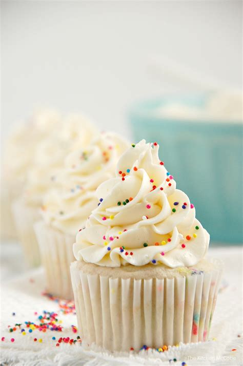 Eat In Kitchen Ideas - funfetti birthday cake cupcakes ditch that boxed mix the kitchen mccabe
