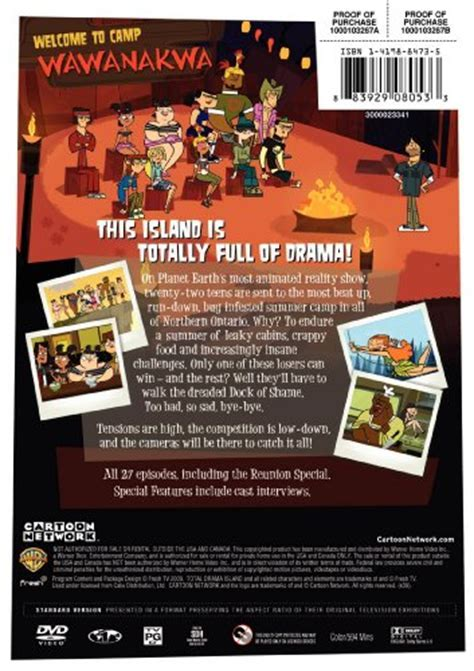Total Drama Island: The Complete Season 1   Buy Online in