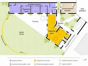 plan maison moderne en v ooreka With photo de plan de maison 4 situation