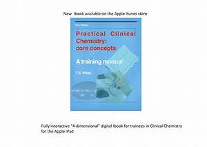 Pdf  Practical Clinical Chemistry