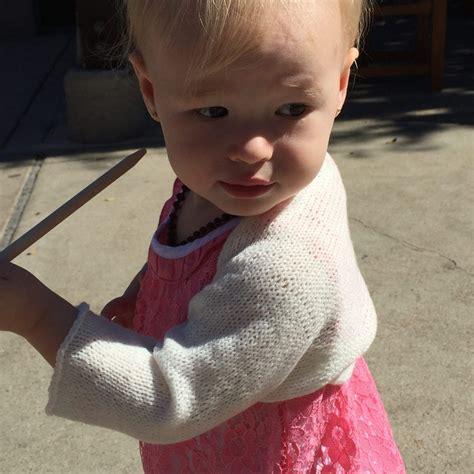 Simple Knit Baby Shrug | Shrug knitting pattern, Baby ...