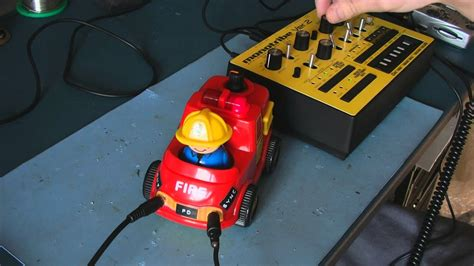 Circuit Bent Toy Fire Truck Freeform Delusion Youtube