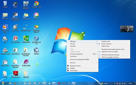 theme de bureau windows 7 image de bureau windows 7 image de