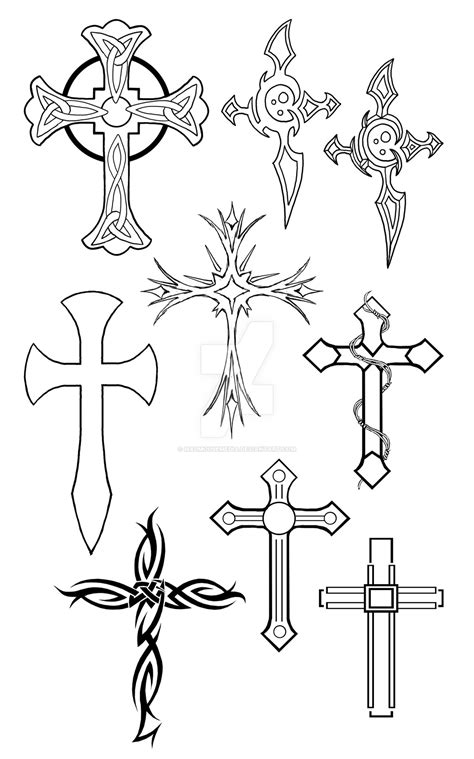 Cross Tattoos by MadMouseMedia on DeviantArt