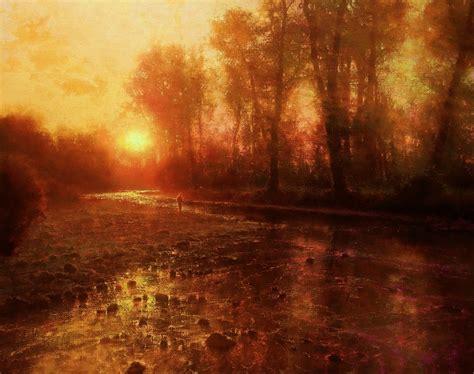 brent cotton artist fine solitude river