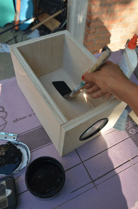 diy  projector   phone