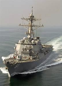 USS Winston S.Churchill, an Arleigh Burke-class guided ...
