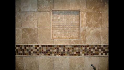 master bathroom shower floor mosaic detail travertine limestone master bathroom and shower stall