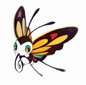 Beautifly, Butterfree, and Vivillon | Cute Pokemon ...