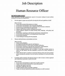 job description templates restaurant hostess job With training officer job description template