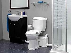 Basement install toilet in basement up flush toilet for Bathroom pumps for basements