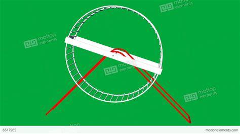 Hamster Wheel Animation (rat Race Of Life)
