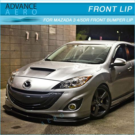 2010 Mazda 3 Parts by For 2010 2011 Mazda 3 Poly Urethane Jdm Style Pu Auto