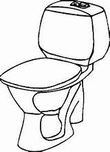 Toilet Seat Clip Bathroom Coloring Cartoon Pages Angry Gograph Bowl sketch template