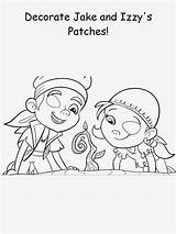 Coloring Patch Printable Eye Patty sketch template